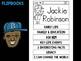 FLIPBOOKS Bundle : Jackie Robinson Flip book, Black History