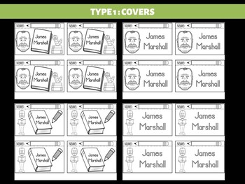FLIPBOOKS Bundle : James Marshall - Author Study and Research