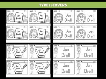 FLIPBOOKS Bundle : Jan Brett - Author Study and Research