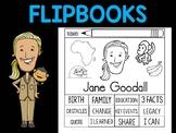 FLIPBOOKS Bundle : Jane Goodall - flip book