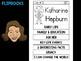 FLIPBOOKS : Katharine Hepburn - flip book