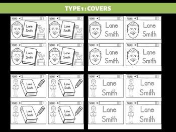 FLIPBOOKS  Bundle : Lane Smith - Author Study and Research