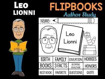 FLIPBOOKS : Leo Lionni - Author Study and Research