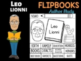 FLIPBOOKS  Bundle : Leo Lionni - Author Study and Research