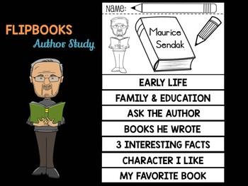 FLIPBOOKS : Maurice Sendak - Author Study and Research