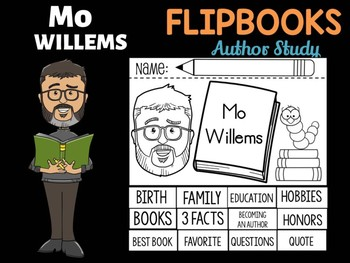 FLIPBOOKS : Mo Willems - Author Study and Research