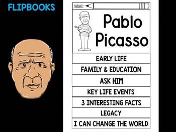 FLIPBOOKS Bundle : Pablo Picasso Flipbook