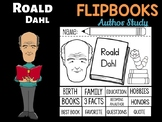 FLIPBOOKS Bundle : Roald Dahl - Author Study and Research