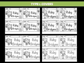 FLIPBOOKS Bundle : Ruby Bridges  - Civil Rights Heroes