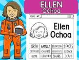 FLIPBOOKS SET : Ellen Ochoa - Latino & Hispanic Heritage