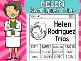 FLIPBOOKS SET : Helen Rodriguez Trias  - Latino & Hispanic Heritage