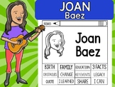 FLIPBOOKS SET : Joan Baez - Latino & Hispanic Heritage