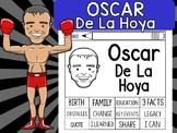 FLIPBOOKS SET : Oscar De La Hoya  - Latino & Hispanic Heritage