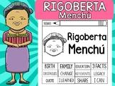 FLIPBOOKS SET : Rigoberta Menchú  - Latino & Hispanic Heritage