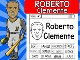 FLIPBOOKS SET : Roberto Clemente - Latino & Hispanic Heritage