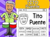 FLIPBOOKS SET : TIto Puente - Latino & Hispanic Heritage