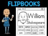 FLIPBOOKS Bundle : William Shakespeare - Flip book