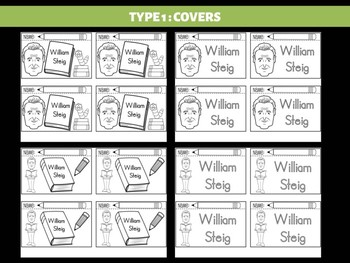 FLIPBOOKS : William Steig - Author Study and Research
