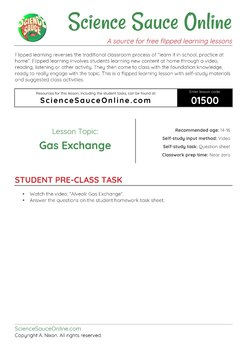 FLIPPED LEARNING: Gas Exchange