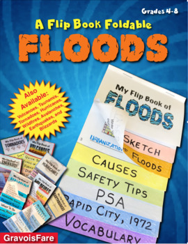 FLOODS: A Foldable Flip Book of Natural Disasters