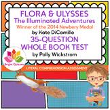 FLORA & ULYSSES |  PRINTABLE WHOLE BOOK TEST | 35 MULTIPLE