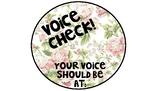 FLORAL Voice Level Chart