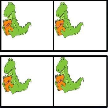 Reading Growth Mindset Alligators