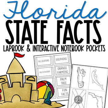 FLORIDA State History Lapbook Project, State Symbols, Stress-Free Design