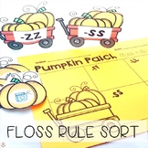 FLOSS Double Consonants (ZZ, SS, FF, LL) Pumpkin Patch Sort (Orton-Gillingham)