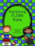 FLOSS Double Consonants (ZZ, SS, FF, LL) Rule Recycling Theme Orton-Gillingham