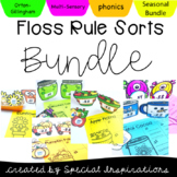 FLOSS Double Consonants (ZZ, SS, FF, LL) Rule Sorts Bundle (Orton-Gillingham)