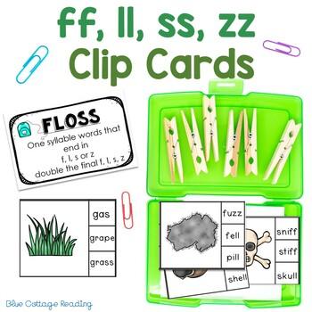 FLOSS Rule Clip Cards