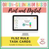 FLOSS Rule Task Cards | Print & Digital | Google Slides™
