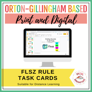 FLOSS Rule Task Box (Orton-Gillingham)
