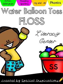 FLOSS Water Balloon Toss (Orton-Gillingham)