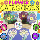 FLOWER CATEGORIES, SPRING (SPEECH & LANGUAGE THERAPY)