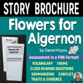 FLOWERS FOR ALGERNON - Foldable Story Brochure - Common Core