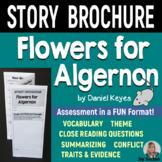 FLOWERS FOR ALGERNON - Foldable Story Brochure - Common Core