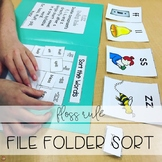 FLOSS Rule File Folder Sort (Orton-Gillingham)