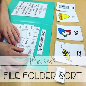 FLOSS Rule File Folder Sort (Orton-Gillingham)