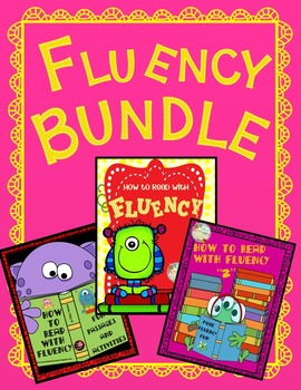 FLUENCY BUNDLE {HIGH INTEREST  FLUENCY PASSAGES  - PRINTABLES - ACTIVITIES }