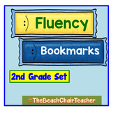 FLUENCY Bookmark 2nd Second Grade Practice & Assessment - Marzano Compatible