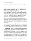 FLUENCY Lesson Plan/Group Activity: Reader's Theater with