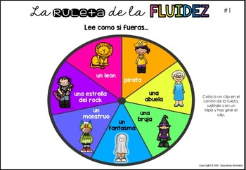 FLUENCY TASK CARDS IN SPANISH