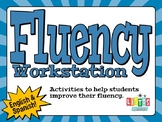 FLUENCY WORKSTATION - in both English & Spanish!