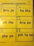 FLUIDEZ:  Combinaciones Consonantes