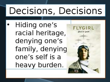 FLYGIRL PowerPoint to Introduce the Book