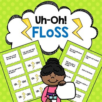 FLoSS Words Reading Fluency Game Uh-Oh!
