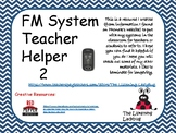 FM System Teacher Helper 2