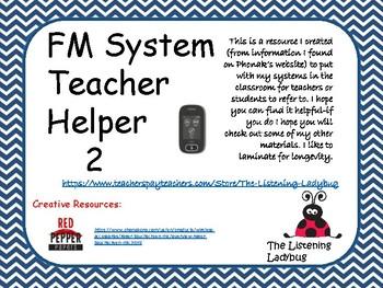 FM System Teacher Helper 2